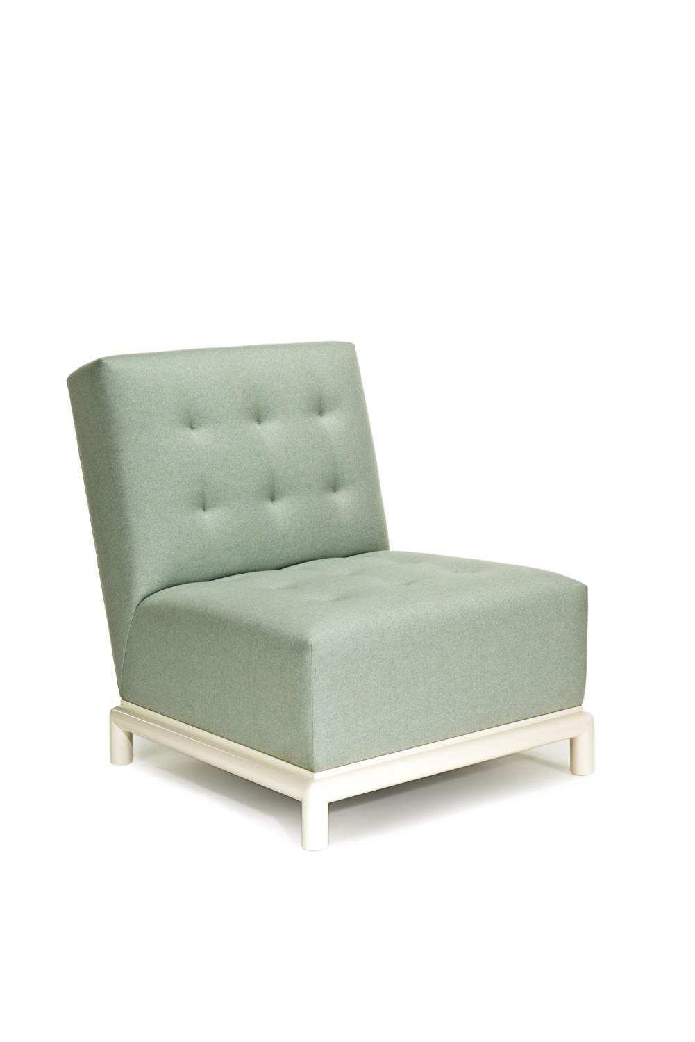 BELVEDERE SLIPPER CHAIR
