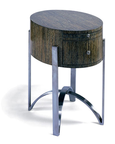 BOX TABLE - OVAL