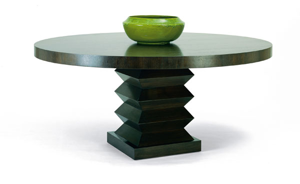 LOMBARD DINING TABLE ROUND