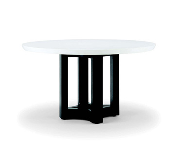 MANSFIELD DINING TABLE WITH CORIAN TOP